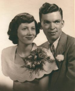 Imogene and Lawrence Porter - August 26, 1950